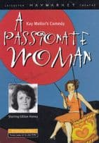 Gillian Hanna of Brookside in A Passionate Woman Hand Signed Theatre Flyer