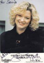 Gillian Taylforth BBC Eastenders as Kathy Beale Hand Signed Cast Card Photo