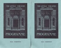 Great Yarmouth Bread Half A Loaf Saloon Bar 2x Old Theatre Programme s