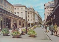 Halfords Bicycle Shop Precinct Stall Street Somerset Shopping Centre Postcard