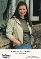 Hannah Waterman of New Tricks in Eastenders Hand Signed Cast Card Photo