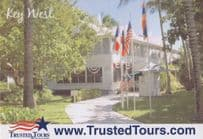 Harry S Truman The Little White House USA Tour Guide Postcard