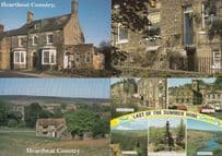 Heartbeat Last Of The Summer Wine 4x TV Soap Real Location Postcard s