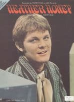 Heather Honey Tommy Roe 1970s Sheet Music