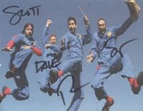 Imagination Movers FULL GROUP Hand Signed Photo