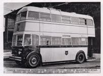 Ipswich 1937 Trolleybus Bus East Anglia Museum Society Photo