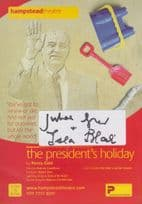 Isla Blair The Presidents Holiday Hammer Horror Films Hand Signed Theatre Flyer