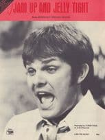 Jam Up & Jelly Tight Tommy Roe 1960s Sheet Music