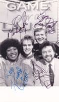 Jeremy Beadle LWT Game For A Laugh MULTI Hand Signed Photo