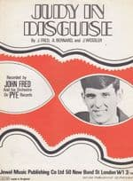 Judy In Disguise John Fred 1960s Sheet Music