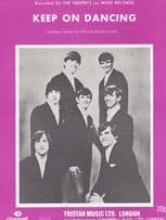 Keep On Dancing The Gentrys 1970s Sheet Music