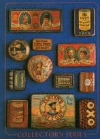 King George & Queen Mary Coronation Biscuit Tin Postcard