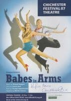 Kylie Anne Cruikshanks Babes In Arms Strictly Come Dancing Signed Theatre Flyer