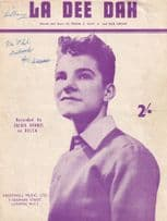 La Dee Dah Jackie Dennis Scottish Sheet Music