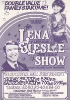 Lena Zavarone with Leslie Crowther Show Gloucester Official Theatre Flyer