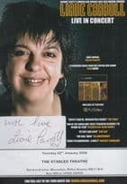 Liane Carroll Live In Concert 2008 Milton Keynes Hand Signed Theatre Flyer