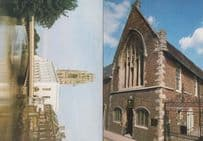 Lincolnshire GuildHall & Town Bridge Assembly Rooms 2x Mint 1980s Postcard s