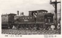 LNER 106 Train & Driver Real Photo Railway Postcard