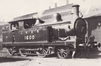 LNER 1600 Class A 2-4-2 Train Postcard