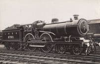 LNER 8900 Engine Train Vintage Railway Real Photo Postcard