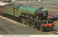 LNER A3 Class Flying Scotsman Train 4472 Photo Postcard
