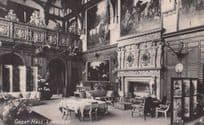 Longleat Great Dining Hall Somerset Real Photo Postcard