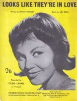 Looks Like They're In Love Cleo Laine 1960s Sheet Music