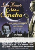 Louis Hoover Tribute To Frank Sinatra London Palladium Signed Theatre Flyer