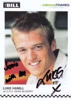 Luke Hamill as CAD Dean McVerry ITV The Bill Hand Signed Cast Card Photo