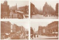 Manchester Queens Victoria Hotel Piccadilly 4x Postcard s