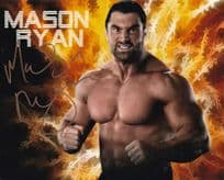 Mason Ryan WWE Wrestling Champion Giant Hand Signed Photo