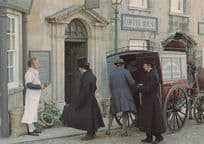 Mawmsy The Grocer Baker Middlemarch BBC TV Show Stamford Lincolnshire Postcard