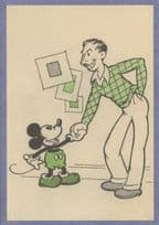 Mickey Mouse 1930 Book Illustration Walt Disney Postcard