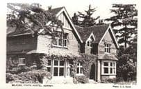 Milford Youth Hostel Surrey Mint Real Photo Vintage RPC YMCA Style Postcard