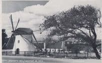 Mosterts Mill Windmill South Africa Real Photo Postcard
