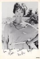 Nicola Pagett Upstairs Downstairs Vintage Hand Signed Publicity Photo