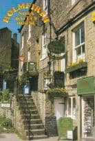 Nora Battys House from Last Of The Summer Wine Show Holmfirth Postcard
