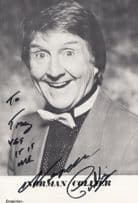 Norman Collier Comedian Vintage Hand Signed Photo