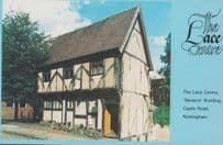 Nottingham Lace Embroidery Crafts Centre 1970s Rare Advertising Postcard