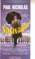 Paul Nicholas Singing in The Rain Musical Hand Signed Theatre Flyer