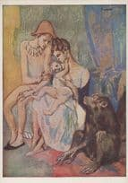 Picasso Acrobat Family Of Circus Acrobats Goteberg Art Gallery Painting Postcard