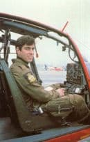 Prince Andrew Royal Family Flying A Helicopter Postcard