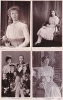 Princess Young Queen Mary Real Photo 4x Beagles Rotary Postcard s