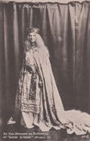 Queen Elfrida Kathleen 1909 Bath Pageant Old RPC Real Photo Postcard