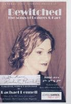 Rachael Pennell Bewitched Rodgers & Hart Songs Hand Signed Theatre Flyer