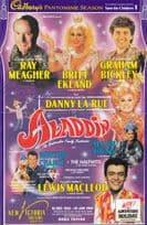 Ray Meagher in Aladdin Hand Signed Theatre Flyer
