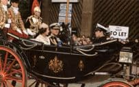 Royal Coach to Queen Mothers 1982 Thanksgiving Service Postcard