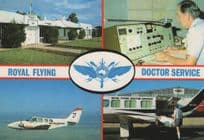 Royal Flying Doctor Service Alice Springs Air Ambulance Postcard