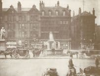 Scottish Provident Bank in 1895 Victorian Manchester Postcard