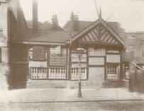 Seven Stars Withy Grove Manchester Billiards Snooker Postcard